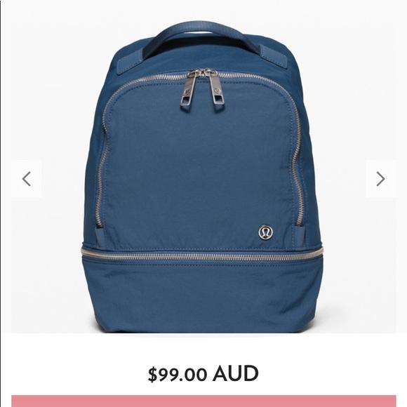 lululemon athletica Handbags - Lululemon BNWT City adventure backpack * mini
